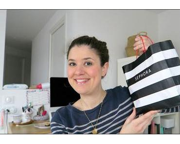 Haul : unboxing Sephora & Cult Beauty