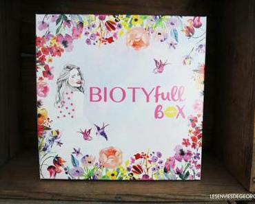 La Biotyfull Box du mois de Mars