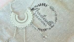 """collier """"Sophie"""" d'Aunaturelle Créations blopines sont bijoux"""
