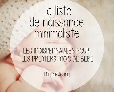 [Maternité] La liste de naissance minimaliste