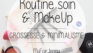 Soins MakeUp grossesse pour minimalistes
