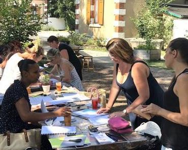 Un atelier de calligraphie moderne à Annecy avec Skriva