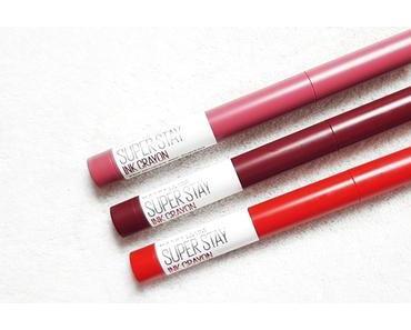 Les Superstay Ink Crayon  par Maybelline