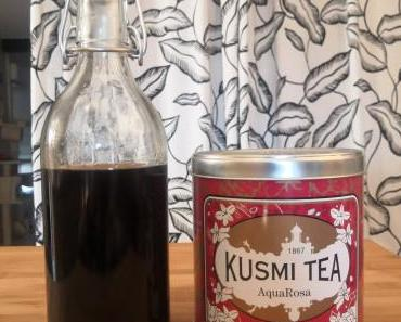 Recette sirop Kusmi Tea Aqua rosa
