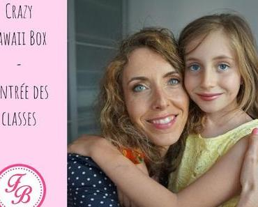 "Crazy Kawaii Box ""Rentrée des classes"" : partir du bon pied"