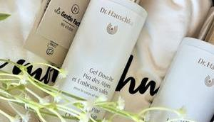 douche luxueuse, Hauschka