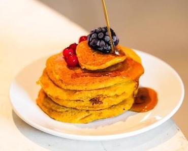 Pancakes à la courge vegan et sans gluten