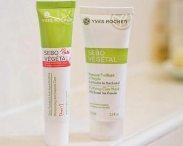 Routine Anti-imperfections avec la gamme Sebo Vegetal YVES ROCHER