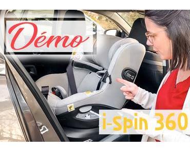 Choisir un siège auto : notre avis sur le I-Spin 360 de Joie