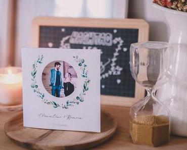 Mariage – La création de nos faire-parts avec Popcarte