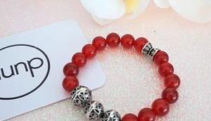 dunp, bracelet mieux semi précieux