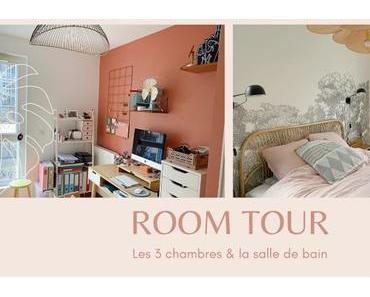 ROOM TOUR | Les 3 chambres & la salle de bain