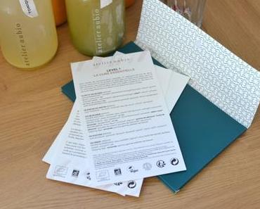 Journal de bord d'une cure de jus frais Atelier Nubio