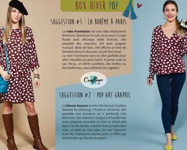 La craftine box de février 2020 : Hiver Pop !