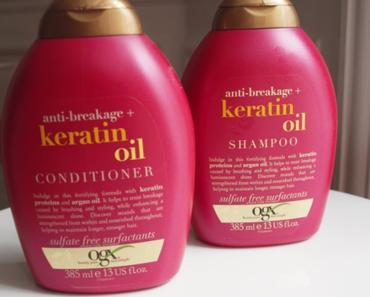 OGX Keratin – le petit nouveau duo à l'huile de Kératine