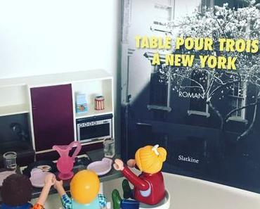 [SP] J'ai lu: Table pour trois à New York d'Elie Bernheim