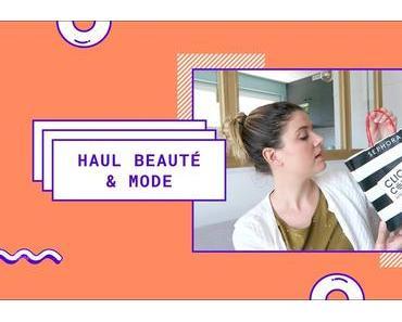 HAUL | Sephora, Cult Beauty, Des Petits Hauts, Glossier…
