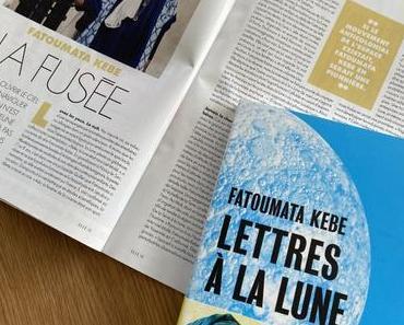 [SP] J'ai lu: Lettres à la Lune de Fatoumata Kebe