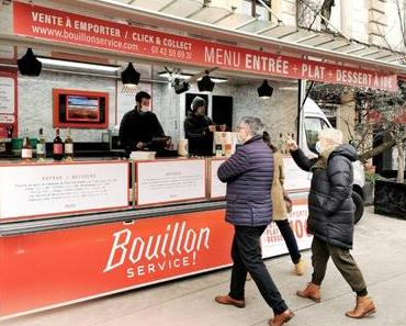 Menu Bistrot à 10€ au Bouillon Service