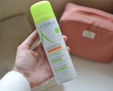Revue : le spray Exomega d'A-DERMA, l'allié des peaux atopiques