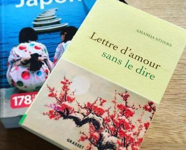 J'ai lu: Lettre d'amour sans le dire d'Amanda Sthers