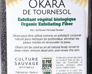 Okara de tournesol – De la terre à la terre, le cosmétique le plus écologique du monde entier
